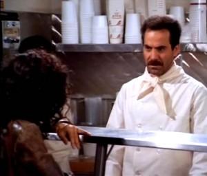 Seinfeld's Soup Nazi